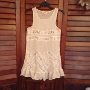 Altar'd State Sleeveless Lace Mi…